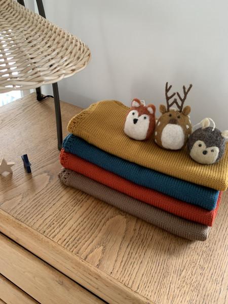 Couverture en laine mérinos