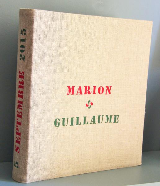 Album de photo personnalisé - Mariage