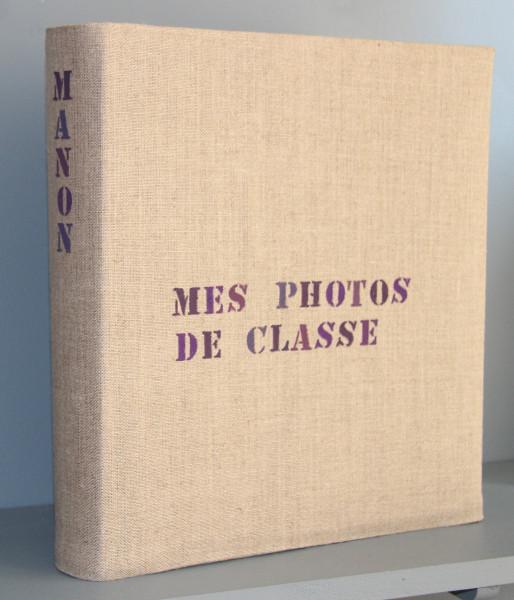 Album de photo personnalisé - Photos de classe