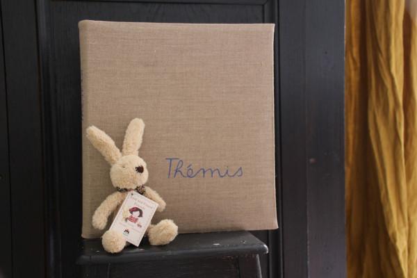 Album de photo personnalisable - 1 prénom peinture en Lettres cursives