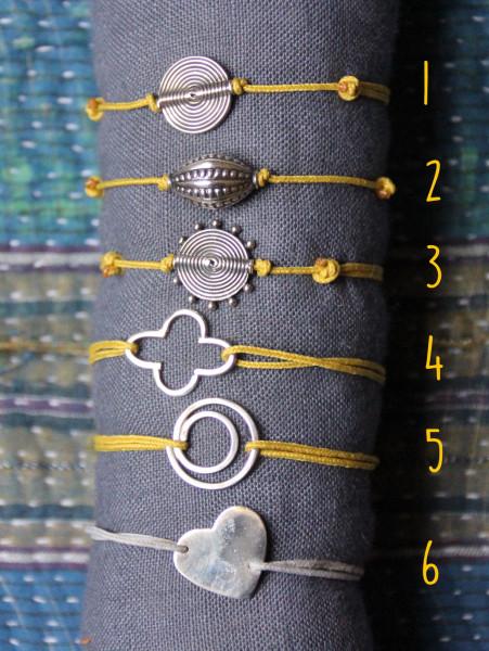 Bracelet en argent - 15€