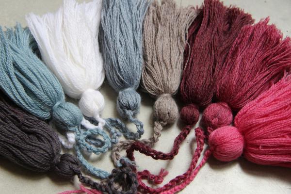 Cache col en laine