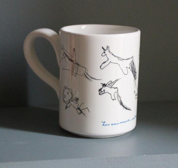 Mug LARGE avec les dessins de vos enfants