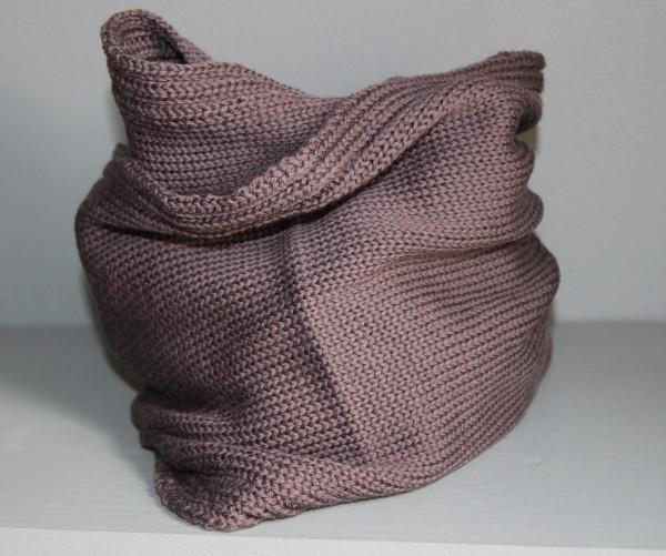 Cache col double en laine